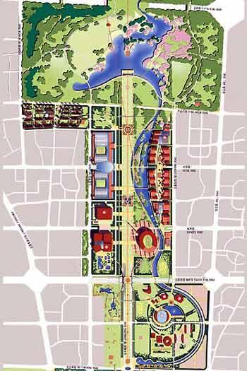 北京奥林匹克公园规划设计实施蓝本已确定(附图)