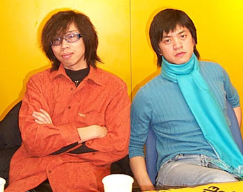 就是喜欢各种各样的音乐,摇滚; 卢庚戌说:有!; 卢赓戌和李健组成