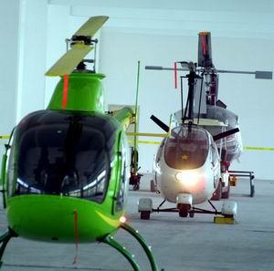 国产首批轻型直升飞机试飞成功 将全部出口(组图)