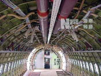 飞机怎么拆--海航波音飞机6c检现场目击记(图)