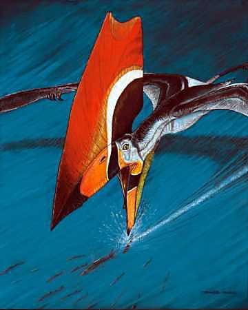 有翅膀的爬行动物是恐龙的近亲