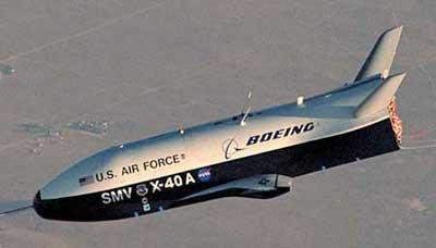 无人驾驶太空飞机的前期版本