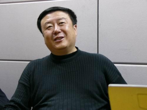 图文:11月13日著名导演尤小刚做客搜狐-38