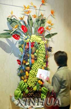 巧克力塑2米维纳斯吴川美食小吃边吃边看(图美食湛江日本雕塑介绍图片