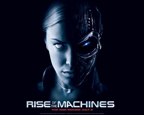 图片:《终结者3》t-x海报