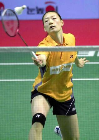 香港羽毛球公开赛 龚睿娜战胜韩国全在娟