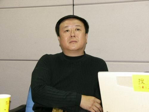 图文:11月13日著名导演尤小刚做客搜狐-16