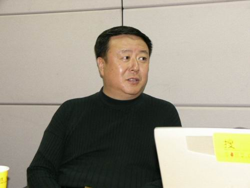 图文:11月13日著名导演尤小刚做客搜狐-17