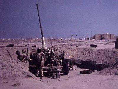 新闻 军事频道 烽火岁月 图片专题:第一次海湾战争-科威特城被收复