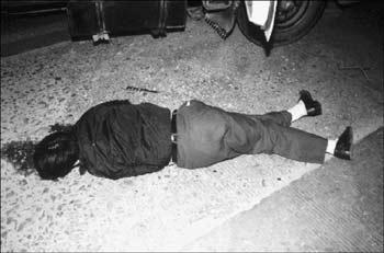 公安副局长拔枪击毙持刀行凶歹徒解救人质(图)