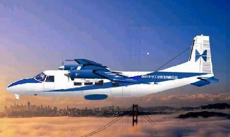 组图:中航二集团产品-运-12运输机