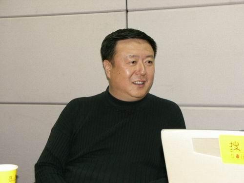 图文:11月13日著名导演尤小刚做客搜狐-19