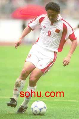 2002年世界杯亚洲区第9小组预选赛,中国队客场雅加达2:0击败印度
