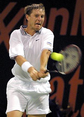 卡塔尔网球公开赛 卡费尔尼科夫被淘汰 图文