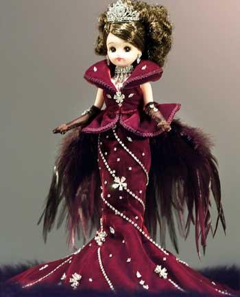 日本的芭比娃娃珠光宝气皮衣近75万美元(图开连体当情趣身价图片