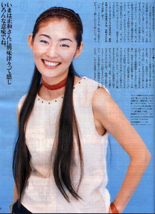 日本著名人气偶像常盘贵子 1
