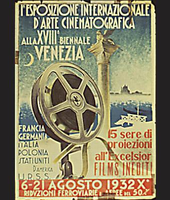 图文:1932年威尼斯电影节海报