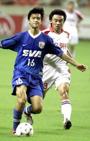 月4日,在全国足球甲A联赛第十四轮比赛中,上海申花队主场以1比