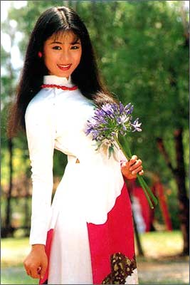 东方美女之国:越南姑娘让人眼亮图1