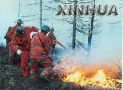 内蒙古大兴安岭灭火战斗已进入了第7天