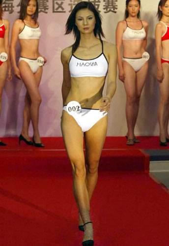 组图:cctv模特大赛上海赛区 佳丽尽显性感身姿
