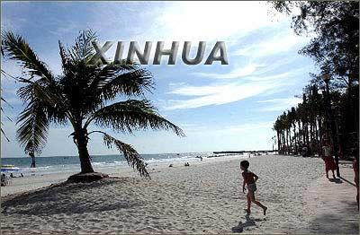 广西北海银滩重返美丽[图]-搜狐网旅游频道