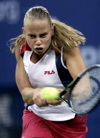 美网1 8决赛 美少女多克奇遗憾出局