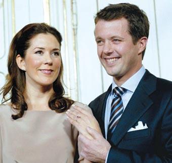 丹麦王储_丹麦王储举行订婚仪式(图)
