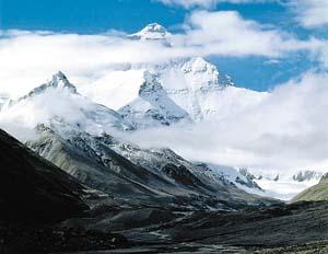 搜狐IT频道 水位上升 冰盖越来越薄 喜马拉雅山在融化